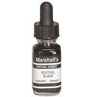 Marshalls Retuschieren spot-all Liquid B & W Retuschieren Farbe (Neutral schwarz, 1/2oz)