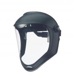 Clear Lens Face Shield/Sfty hdgr-3pack