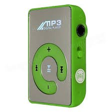 MP3 Player with Headphone and USB Charger - Color May Vary - By Crispy™