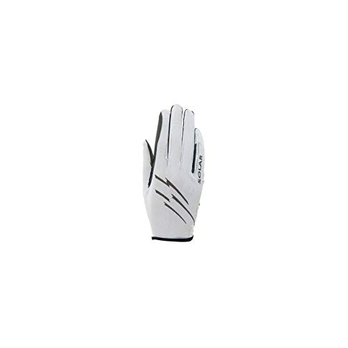 Roeckl Sports Ladies Handschuh -Laila- Damen Reithandschuh, Weiß, 7