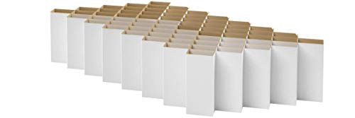 ROOM IN A BOX Bett 2.0 S/Weiß: Klappbett aus Wellpappe 80 90 100 x 200 cm und Zwischengrößen. Auch als Gästebett. Lattenrost Nicht nötig.