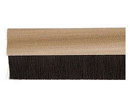 door-bottom-brush-draught-excluder-sweep-seal-914-light-wood