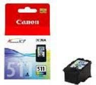1 ORIGINAL CANON Druckerpatronen Color Colour CL511(dreifarbig) !!! Für folgende Canon Geräte : Canon MP 240, MP 250, MP 260, MP 270, MP 480, MP 490, MX 320, MX 330 (Mx 330 Tinte)
