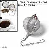 Cookware company - Filtro para té e infusiones con forma esférica (diámetro 4,5 cm)