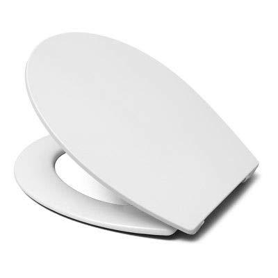 Hamberger HARO WC-Sitz BORA - SLIM, mit Scharnier Softclose Fast Fix weiss
