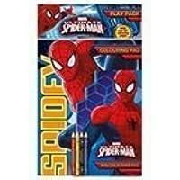 Marvel Heroes Spiderman: Play Pack (Juego de colorear y lápices)
