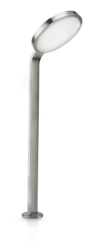 Philips Luminaire Extérieur Moon borne LED Inox 1x4.5W SELV