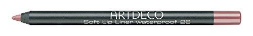 Artdeco Soft Lip Liner Waterproof unisex, Wasserfester Lippenkonturenstift farbe: 26 sensual teak, 1er Pack (1 x 1 g)