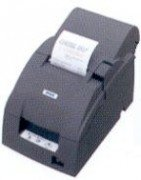 U220b Bondrucker (Epson TM-U220B, USB, Cutter, schwarz (C31C514057A0))