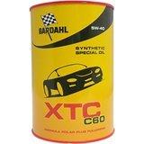 7 Litri Bardhal XTC C60 5W-40 con spec.MB 229.5