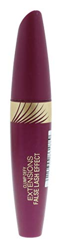 Max Factor Clump Defy Extensions Mascara Schwarz – 3 in 1 Wimperntusche ohne zu verklumpen – Für Volumen & Länge – 1 x 13 ml