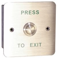 Securefast Flush Vandal Resistant EXIT Button AEB2 -