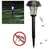Ayans Solar Lights Outdoor Mosquito Killer Lamp, Solar Powered Bug Zapper, Insect Bug