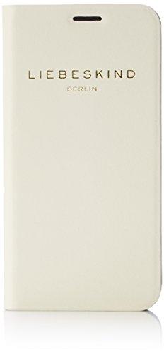Liebeskind Berlin Damen Mobiles6 Vacche Handyhülle, Elfenbein (Ivory White), One Size
