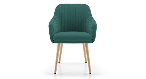 Urban Ladder Rochelle Lounge Chair (Colour : Grey)