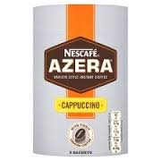Nescafe Azera CAPPUCCINO Barista style Instant Coffee 6 Sachets (Pack of 2)