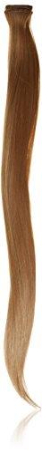 BiYa Hair Elements Thermatt Haarverlängerung Clip in Hair Extensions Gerade Highlights, caramel braun Nr. 1020/60g