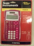 Texas Instruments TI-30X IIS 2-Line Scientific Calculator, Rasberry by Texas Instruments