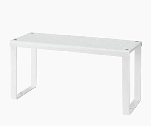 IKEA Variera Regaleinsatz, Metall, weiß, 13 x 32 x 16 cm