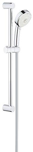 Grohe Tempesta Cosmopolitan 100, alcachofa de ducha y sistemas–Barra de ducha, 4tipos de chorro, cromo, 27580002