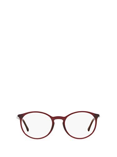 Chanel luxury fashion donna ch3372c539 bordeaux occhiali   autunno inverno 19