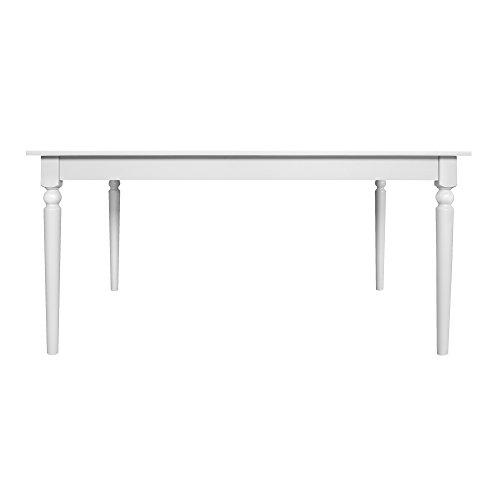 Furniture 247 - Hart Esstisch, ausziehbar - Weiß