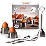Epare Egg Cracker Topper Set - Soft Hard Boiled Eggs