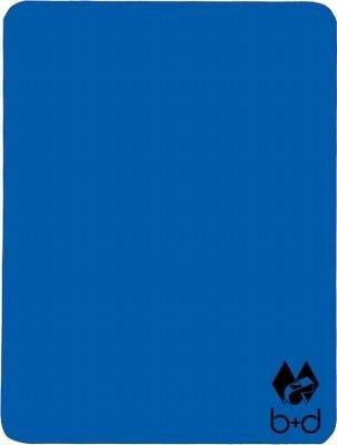 B+D - Cartellino arbitro BLU 12x9 cm