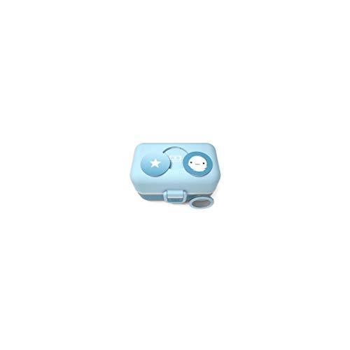 monbento Tresor Lunchbox, Kunststoff, Iceberg Blau, 16 x 9,2 x 10,4 cm (Aus Lunch-box Kunststoff)