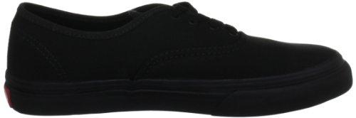 Vans T AUTHENTIC blk Sneaker, Unisex Bambino Nero (Black/Black/BKA)