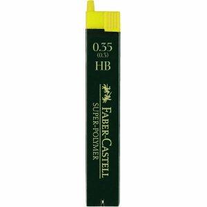 Faber Castell Minas Super de polímero de litio 0,35HB VE = 12unidades