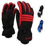 Winter Ski Gloves for Men, Waterproof Windproof Breathable Warmest Snow Glove-Outdoor Sports Motorcycle