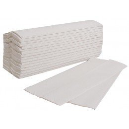 4800 x WHITE 2 PLY C-FOLD PAPER HAND TOWELS MULTI FOLD - 24HR DEL