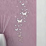 Oyedens Spiegelfolie 3D Schmetterling  im Test