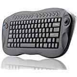 BANGWEIER Wireless Keyboard mac With Trackball QWERTY, Internet + Media Hotkeys, PC +