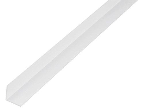 GAH-Alberts 479237 Winkelprofil - Kunststoff, weiß, 1000 x 20 x 20 mm