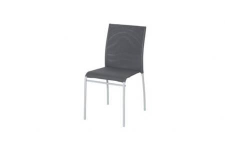 Plicosa M291816 textilene Chaise Fer-Gris