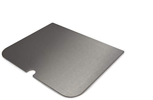 "Placa de acero inoxidable / Plancha / placa plancha / plancha de acero inoxidable para Weber ""Go Anywhere""."