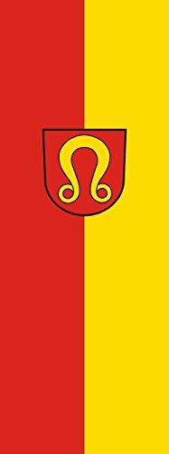 magFlags Drapeau Nufringen | portrait flag | 6m² | 400x150cm