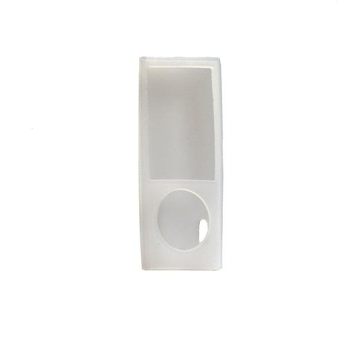 System-S Silikonhülle Schutz Hülle Case Skin Tasche in Weiß für Apple iPod Nano 5 Ipod Nano Skin