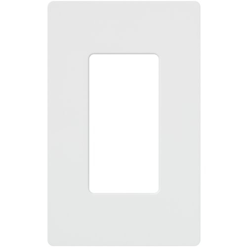 Lutron CW-1-WH 1-Gang Claro Wall Plate, White by Lutron Wall-plate 1 Gang
