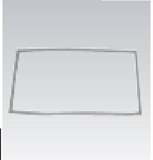 Electrolux - Joint Quatre Faces magnétiques - Refroidisseur - Blanche - 53,5 x 113