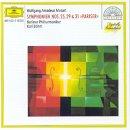 MOZART - Symphonies N° 25, 29 et 31