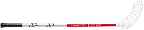UNIHOC Floorballschläger PLAYER 29, rot, Modell 15/16 Händigkeit: Produktinformationen beachten! (96 cm Schaftlänge, Links)