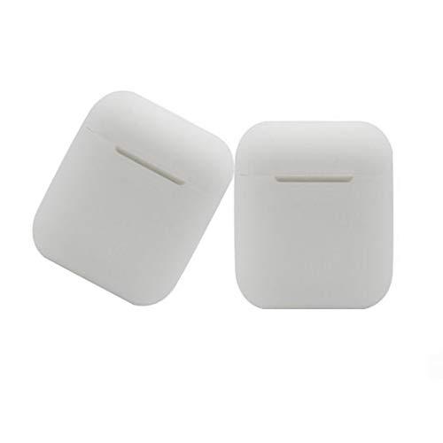 Uzinb Per impermeabile a prova di polvere Shockprood Airpods Auricolari Wireless Storage Box Vita silicone Custodia protettiva Shell