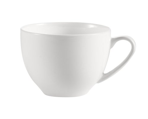 CAC China Majesty Tasse aus feinem Porzellan 3-5/8-Inch, 8-Ounce Bone white