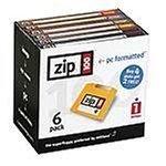Iomega Zip 100MB PC formatiert Festplatten (6Pack)