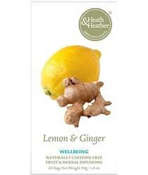 Heath & Heather - Wellbeing - Lemon & Ginger - 40g - Heather Herb