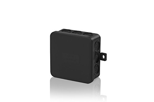 10 Stück SD7 Abzweigdose Verteiler Kabel SD 7 Feuchtraum Kabeldose schwarz