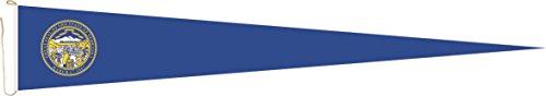 Haute Qualité pour U24 Long Fanion Nebraska Drapeau 250 x 40 cm
